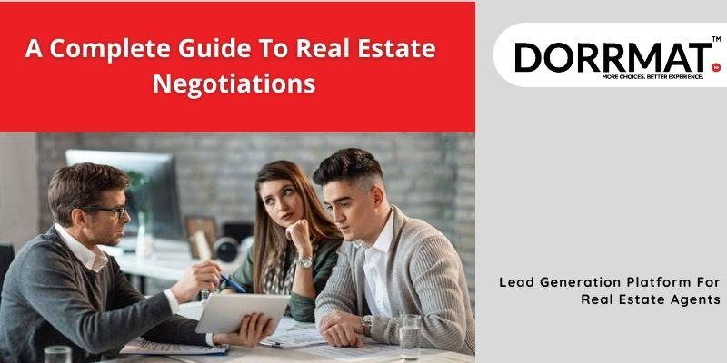 A complete guide to real estate negotiations